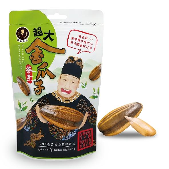 超大茶煮金瓜子【強森先生】茶煮瓜子 解饞首選